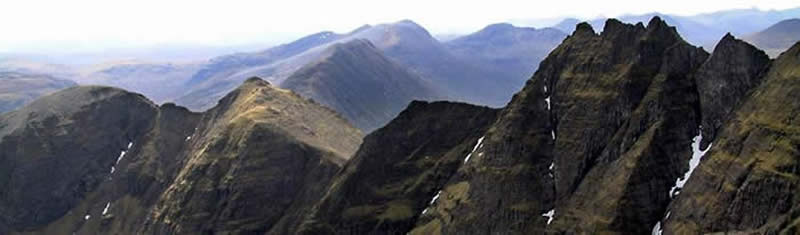 An Teallach Pinnacles