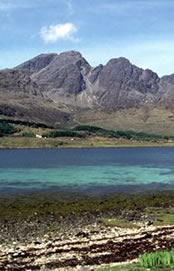Blaven from the shores of Loch Slapin