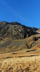 Cam Spout Crag and Scafell